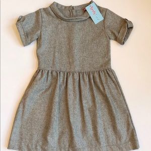 e62ffa418c8 Kandy Crew Gray A-Line Dress Girls 10